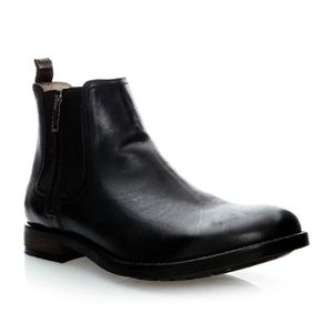 BOTTINE Boots en cuir - noir