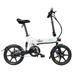 VÉLO ASSISTANCE ÉLEC Vélo électrique montagne pliant 7.8Ah 250W 16 pouc