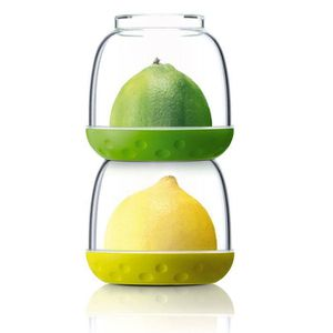 BOITES DE CONSERVATION 2 pots fraicheurs pour aliments Bit Pots - anis et
