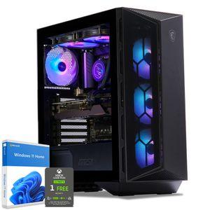 UNITÉ CENTRALE  PC Gamer, Intel i7, RTX 2070, 250Go SSD NVMe M.2 P