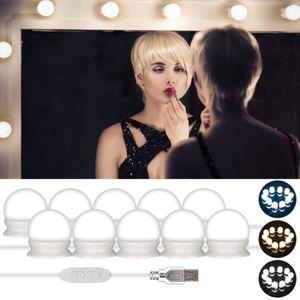 AMPOULE - LED 10 Ampoules LED Kit de Lumière LED pour Miroir maq