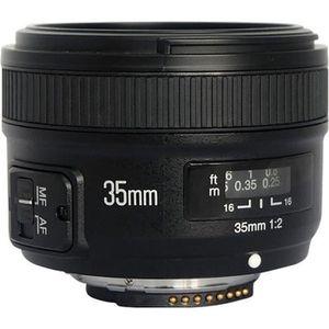 OBJECTIF YongNuo YN Objectif grand angle 35 mm f-2.0 Nikon