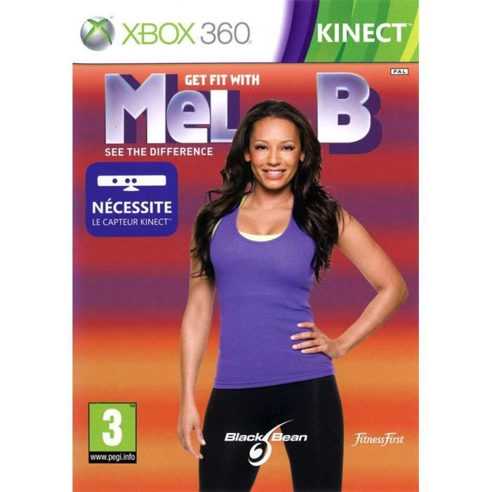 GET FIT WITH MEL B KINECT / Jeu Xbox 360