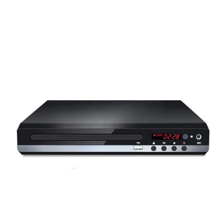 Lecteur Dvd Portable Tv Evd Complète Avec Zone D'Entrée Usb De Télécommande Du Câble Hdmi 1080P Hd Lire Cd