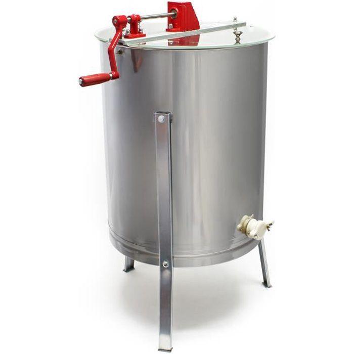 Extracteur de miel manuel 4 Cadres Cadre à fils DNM - 51336