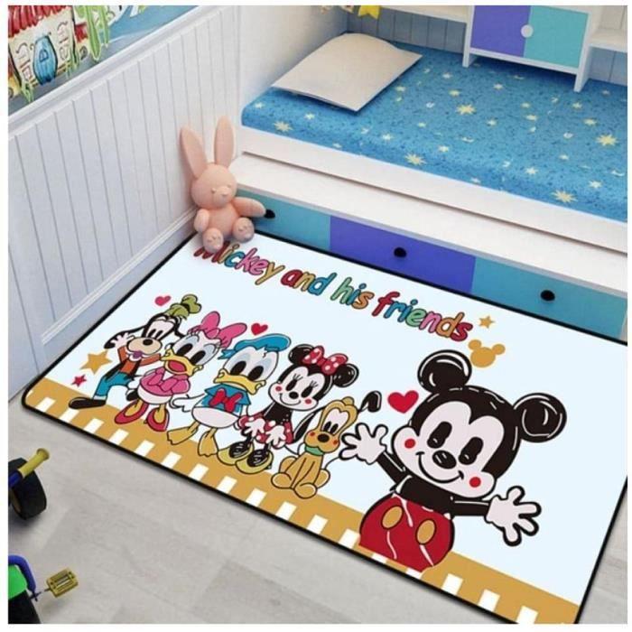 Tapis Mickey Minnie Tapis De Jeu Salon Chambre Tapis Enfants Chambre Tapis De Jeu Décoratif Tapis60*90cm[1324]