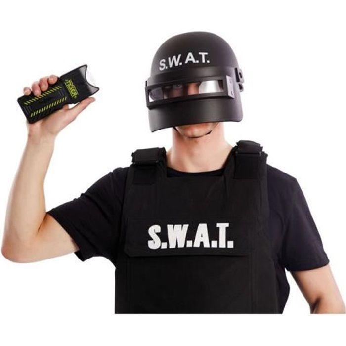 Taser police arme fictive 7 cm accessoire deguisement