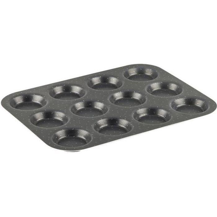 TEFAL SUCCESS Moule à 12 Muffins J1602802 30x23 cm marron