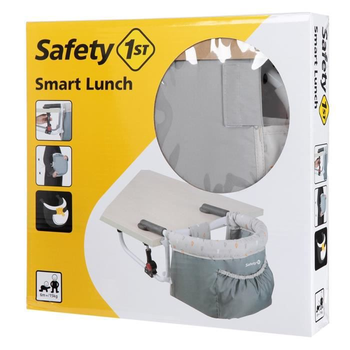 SAFETY FIRST Rehausseur De Chaise Smart Lunch Warm Gray