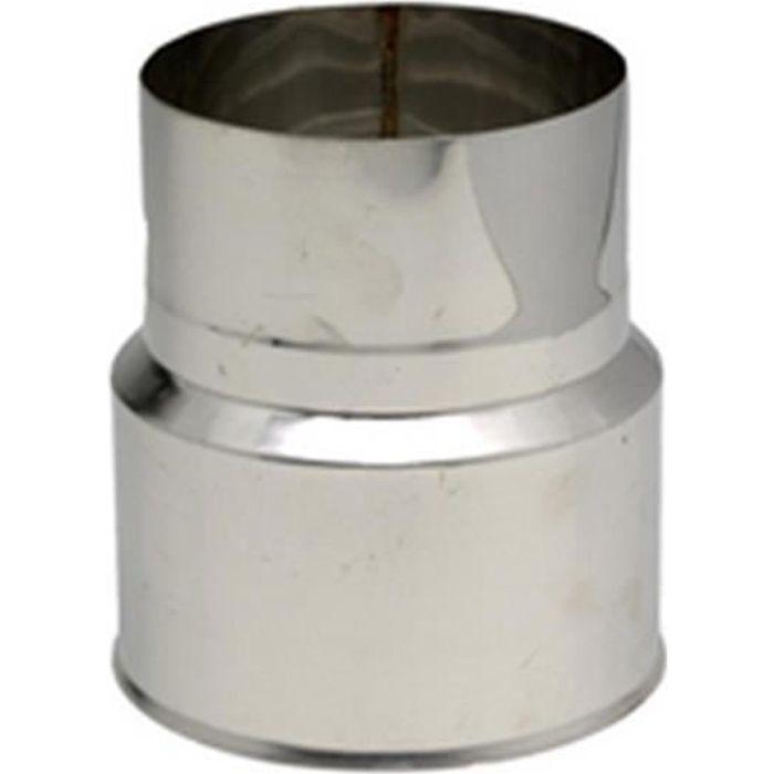 Ten Réduction Inox 304 F M diamètre : 200 180 Réf. 620080
