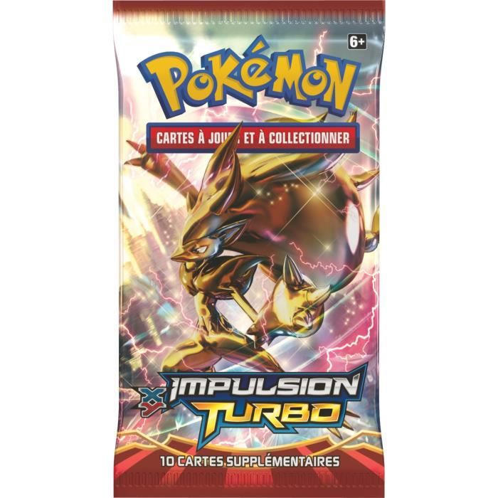 Pokemon booster xy 08 impulsion turbo achat vente carte a collectionner cdiscount - Cart pokemon xy ...