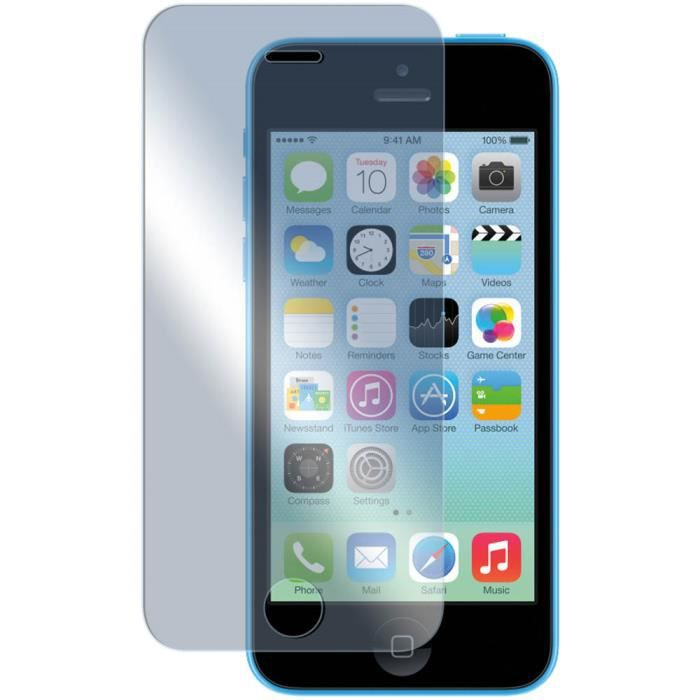 film prot ge ecran verre tremp apple iphone 5c achat film protect t l phone pas cher avis. Black Bedroom Furniture Sets. Home Design Ideas