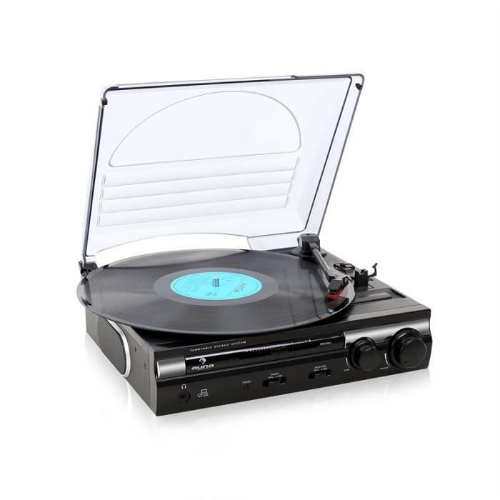 auna mg 182tt tourne disque platine vinyle usb avec encodage mp3 pour num riser vos disques 33. Black Bedroom Furniture Sets. Home Design Ideas