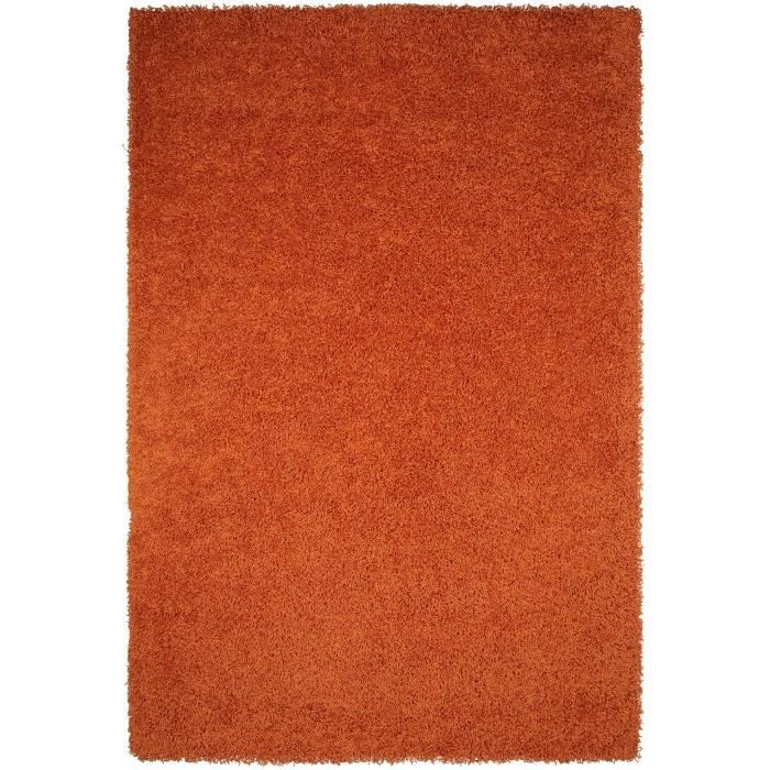benuta tapis poils longs cambria orange 80x150 cm achat vente tapis cdiscount. Black Bedroom Furniture Sets. Home Design Ideas