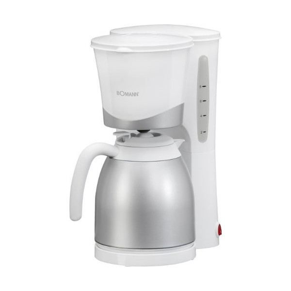 Cafeti re isotherme 1l 870w bomann ref ka 168cb achat - Cafetiere filtre programmable isotherme ...