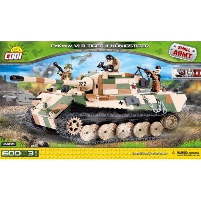 C Réservoirs Pièces de Blocs Construction Jouet Petit Armée Panzer II Ausf