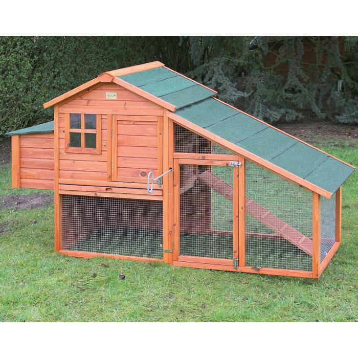 Ferme de beaumont poulailler oxford 4 6 poules achat for Surface poulailler 2 poules