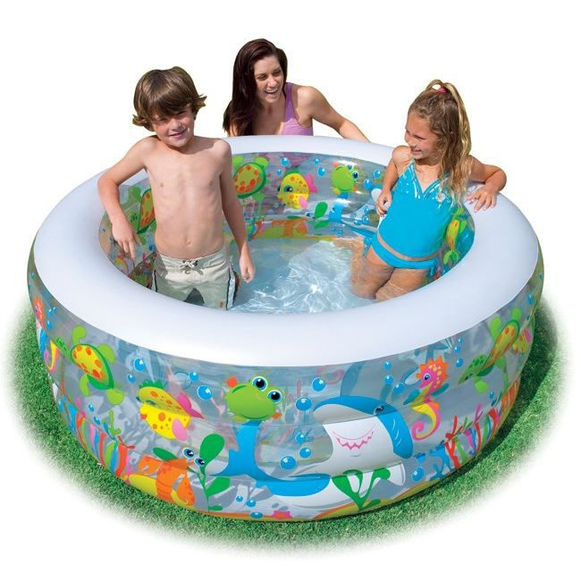 juniors plein air piscine gonflable aquarium f  int