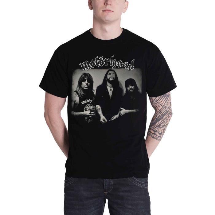 Mot/örhead We are T-Shirt Manches Courtes Noir