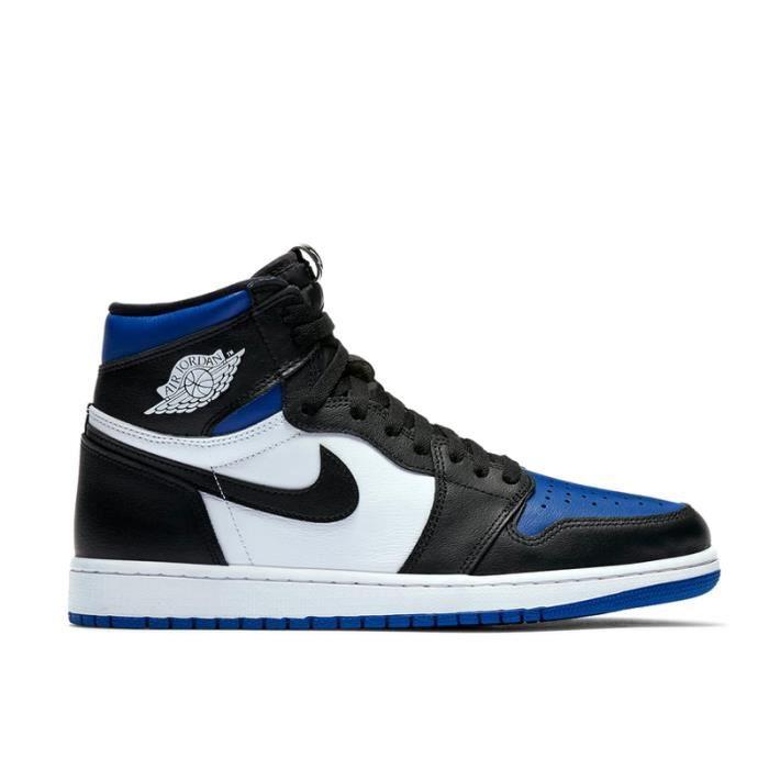 Jordan 1 Retro High Royal Toe Basket Chaussures décontractées ...