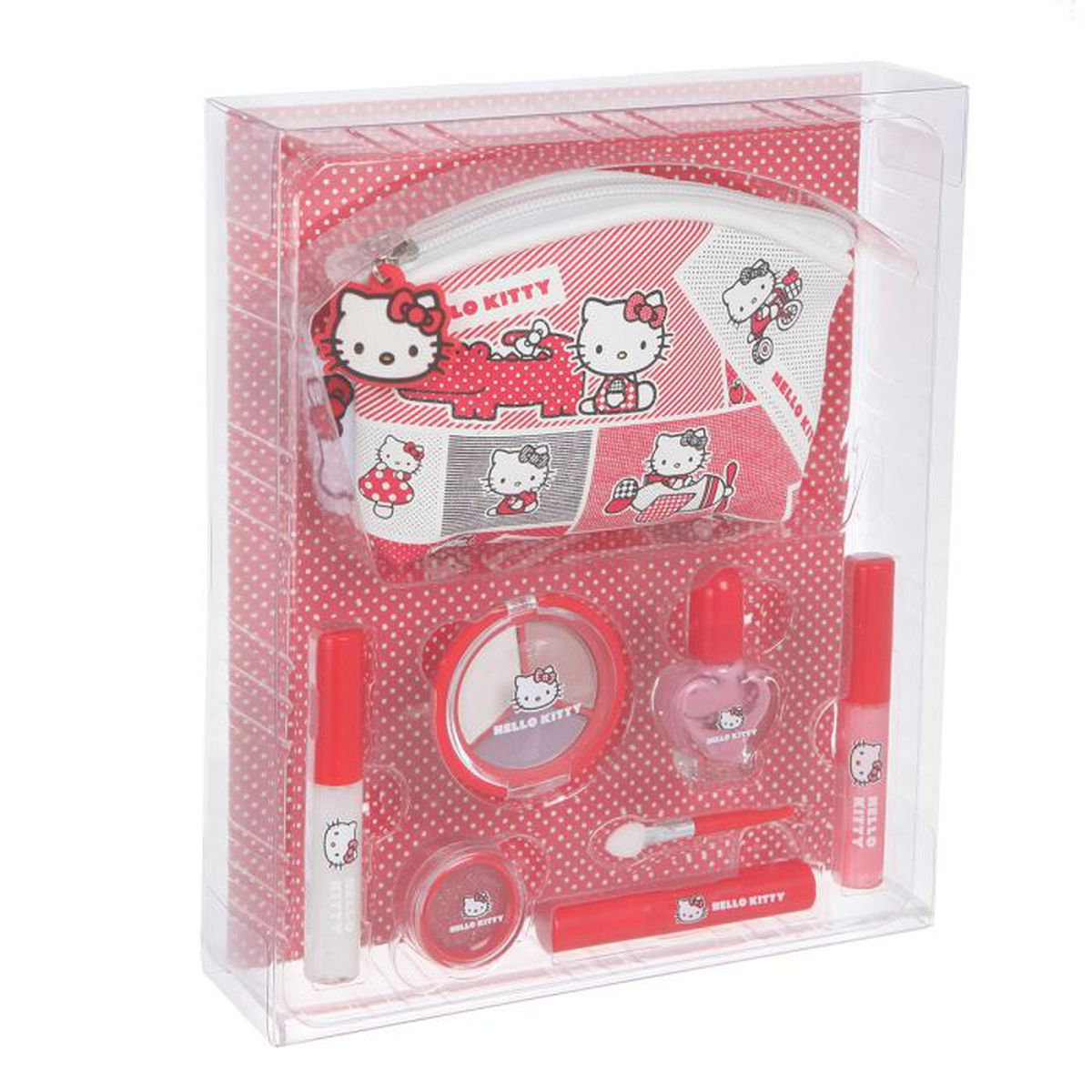 coffret maquillage hello kitty achat vente coffret cadeau beaut set de maquillage hello kit. Black Bedroom Furniture Sets. Home Design Ideas