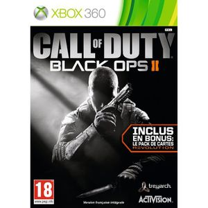 JEUX XBOX 360 Call of Duty Black Ops 2 : GOTY Edition