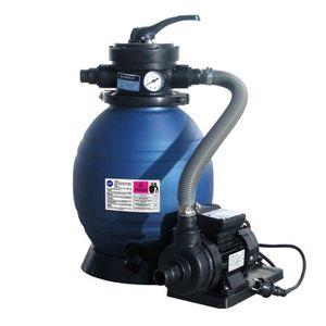 POMPE - FILTRATION  GRE Groupe de filtration à sable 4m³/h pour piscin
