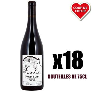 VIN ROUGE X18 Mammouth Rouge 2015 75 cl Domaine Balagny Juli