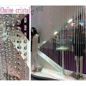Décors de table Chaîne Crystal guirlande décoration mariage MDC1 1