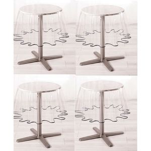 nappe ronde pvc transparente achat vente nappe ronde pvc transparente pas cher cdiscount. Black Bedroom Furniture Sets. Home Design Ideas