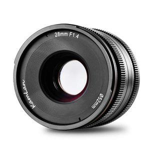 OBJECTIF Kamlan 28 mm F - 1,4 APS-C, objectif à focale fixe