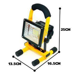 PROJECTEUR EXTÉRIEUR Projecteur LED Rechargeable 30W 3 modes d'éclairag