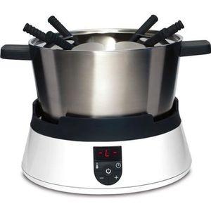 FONDUE ÉLECTRIQUE CASO 2280 Appareil à fondue à induction - Blanc