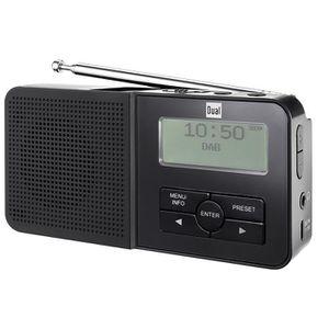 RADIO CD CASSETTE Dual DAB Radio de poche 2Radio numérique Tuner (F