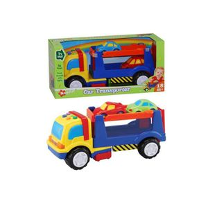 camion transport de voitures achat vente jeux et jouets pas chers. Black Bedroom Furniture Sets. Home Design Ideas