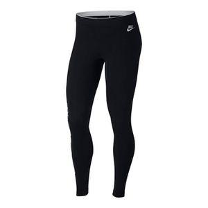 T-SHIRT MAILLOT DE SPORT Nike - Nike Club Metallic Gx Femme Leggings Noir