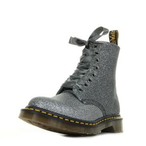 DERBY Boots Dr Martens 1460 Pascal Pewter Glitter