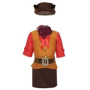 Ensemble de vêtements Déguisement Cowgirl Enfant Fille Costume Halloween