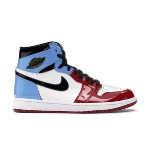 air jordan 1 bleu et rouge