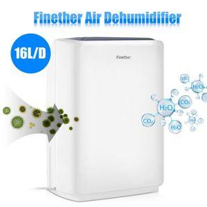 DÉSHUMIDIFICATEUR Déshumidificateur d'Air Finether 16L-D LCD Numériq