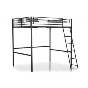 lit mezzanine 140 achat vente lit mezzanine 140 pas cher cdiscount. Black Bedroom Furniture Sets. Home Design Ideas