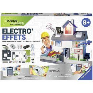 EXPÉRIENCE SCIENTIFIQUE RAVENSBURGER Electro'Effets - Jeu Educatif - Scien