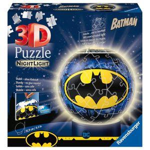 PUZZLE RAVENSBURGER -  Batman Puzzle 3D rond 72 pièces Il