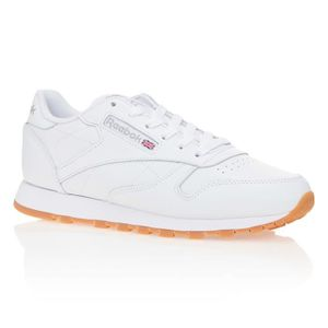 65b36a70ee89 BASKET REEBOK Baskets Classic Leather - Femme - Blanc