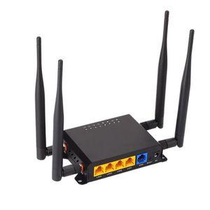 MODEM - ROUTEUR Routeur WiFi Modem 4G LTE avec Point D'AccèS pour