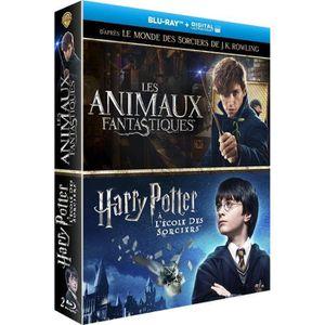 BLU-RAY FILM Les Animaux Fantastiques + Harry Potter à l'école