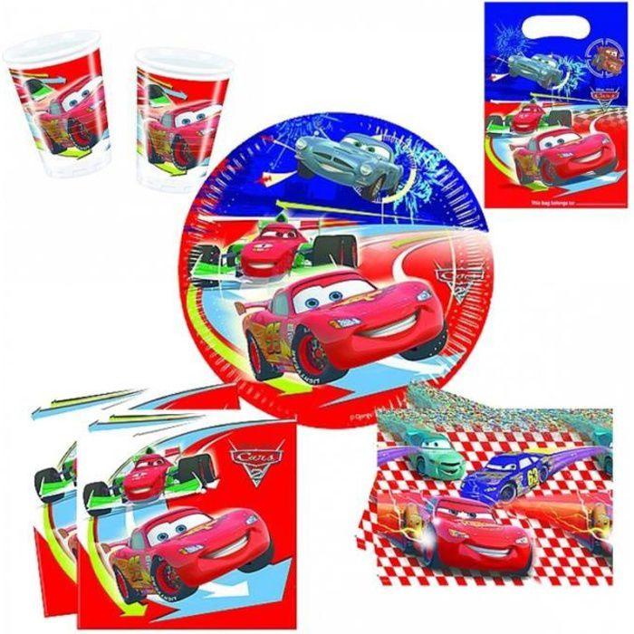 Set Anniversaire Décor 'Cars RSN'