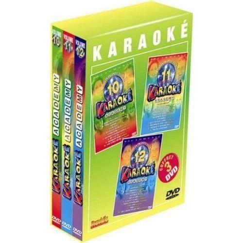 Fravidis Coffret 3 DVD Karaoké 4 - 3476473081803