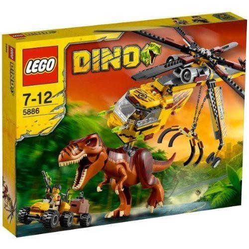 Lego Dino - 5886 - Jeu de Construction - La Chasse du T-Rex