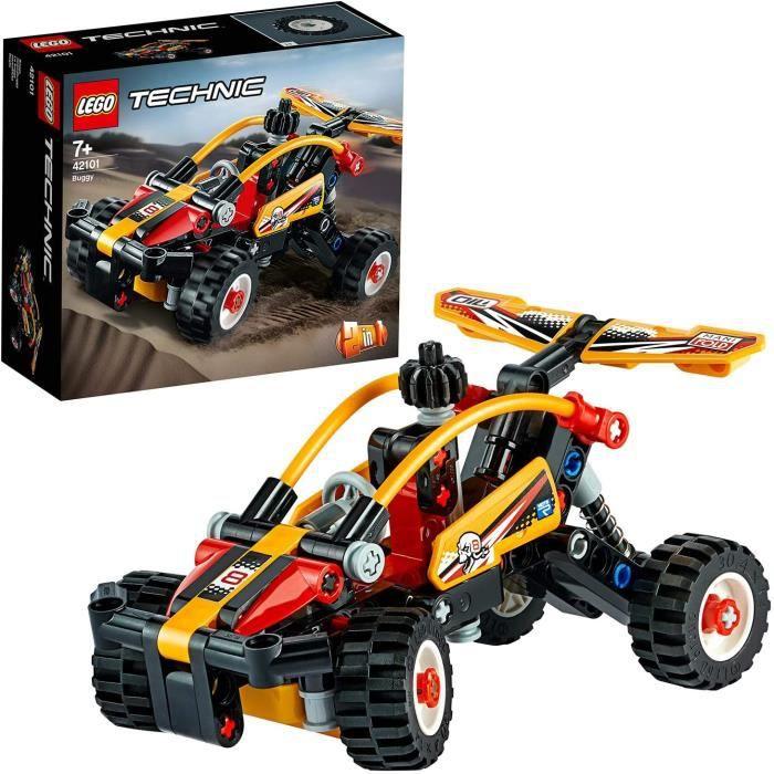 Jeux de construction LEGO Technic, Ensemble de construction buggy vers voiture de course 2in1, Collection de véhicules t 52802